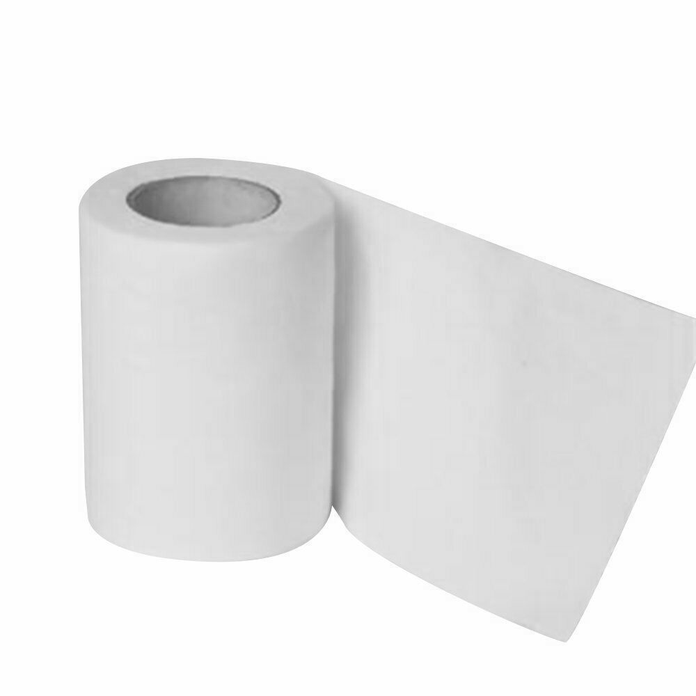 10 Rolls Toilet Paper Bulk Rolls Tissue Bathroom Household White Soft