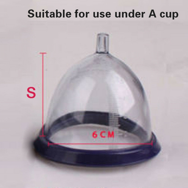 Female Breast Suction Cup Pump Enhancement Enlargement Pumping Sucker
