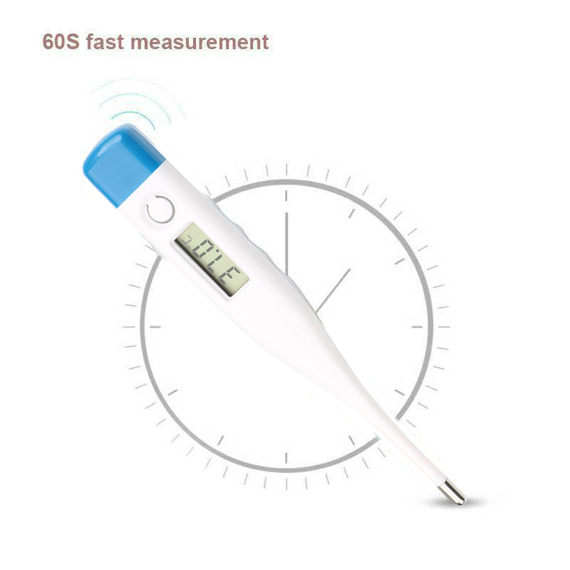 New Digital LCD Thermometer Safe Baby Oral Alarm Adult Body Temperature Meter