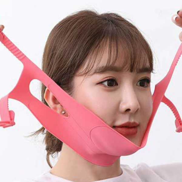 Face Slimming Band V-Line Lift Up Mask Chin Cheek Silicone Belt
