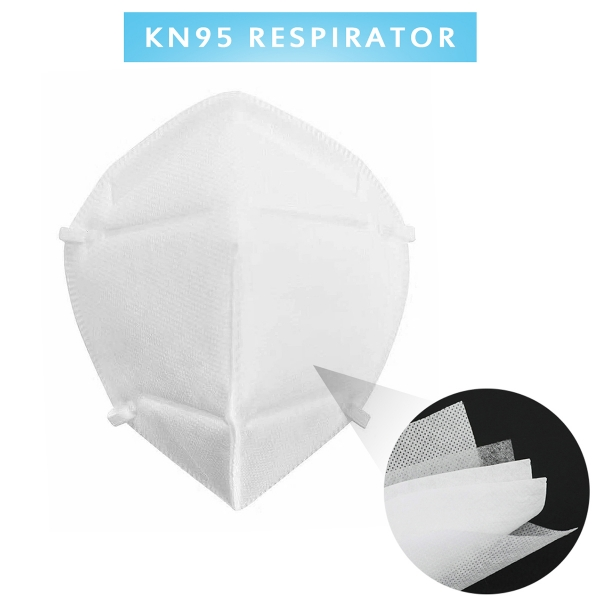 10pcs KN95 Face Mask Protection Mouth Dust Proof Anti Flu Fog