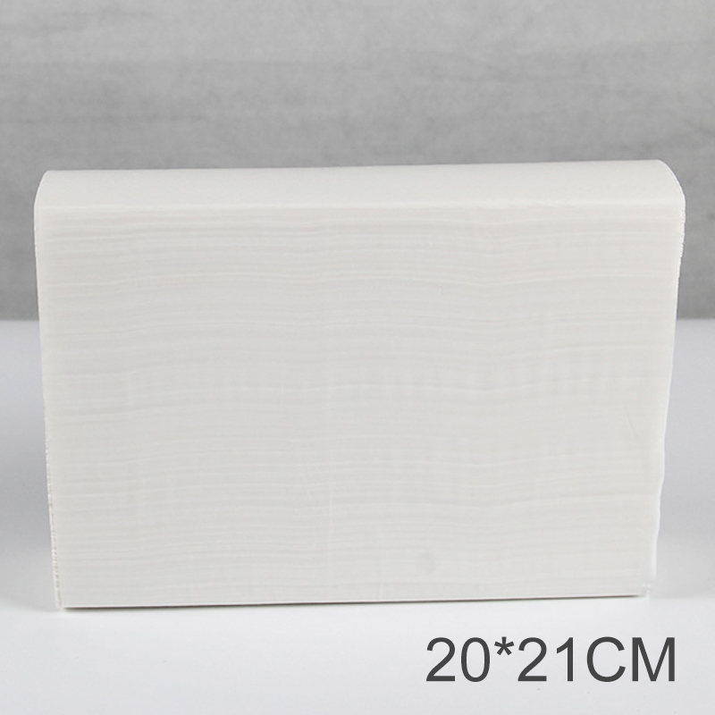 1 Ply White Fold Paper Hand Towel Disposable Multifold Pack of 160 pumping