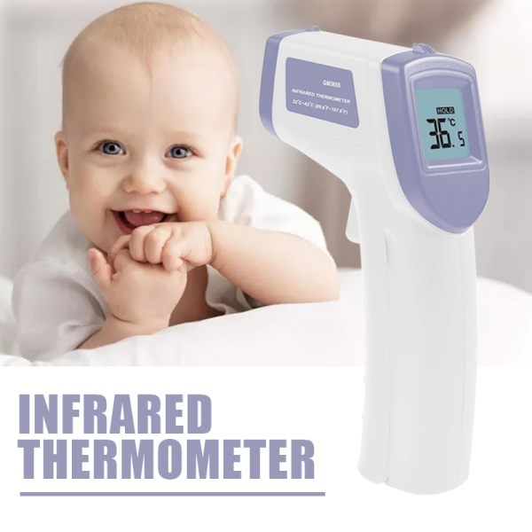 1pc New Non-contact Body Infrared Thermometer Forehead Temperature Instrument