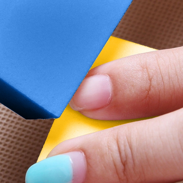 12pcs Nail Art Tips Sandpaper Buffing Block Manicure File Polish Sponge