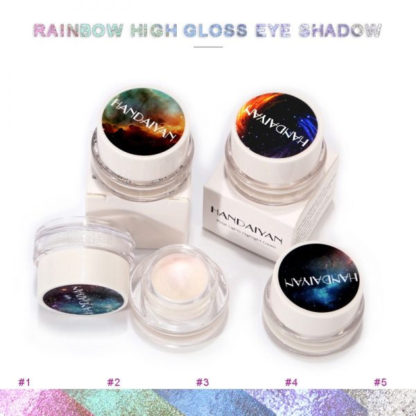 5ml Glitter Highlight Cream Makeup Face Eye Shiny Eyeshadow Waterproof