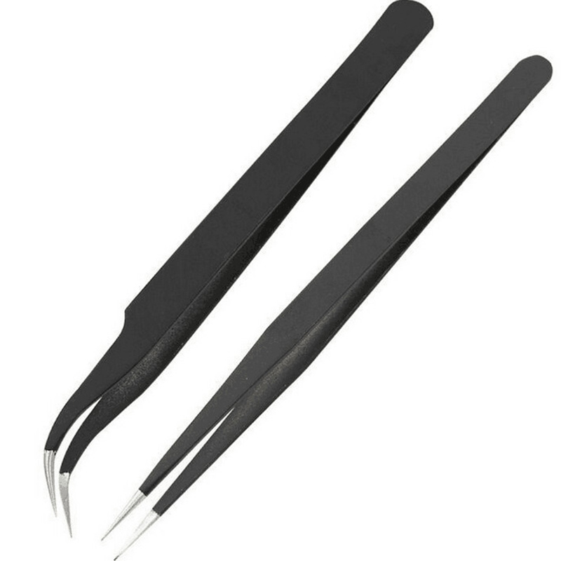 Fiberglass Nails Extension Kit Clips Manicure Tools Tweezers Set