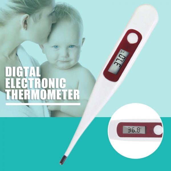 1pc New Baby Adults Household Thermometer Oral Underarm Body Temperature Meter